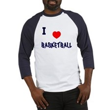 Love Basketball  Baseball-style Jersey