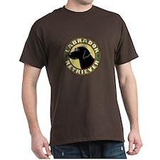 Black Lab Crest - T-Shirt