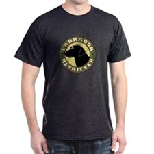 Black Lab Crest - T-Shirt