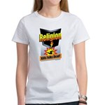Religion: Kills Folks Dead! Women's T-Shirt