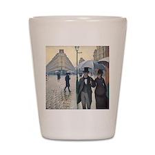 Rainy day in Paris Shot Glass