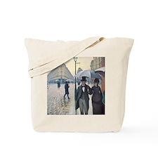 Rainy day in Paris Tote Bag
