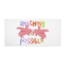 Anything is Possible Beach Towel