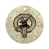 Clan fraser Ornament (Round)