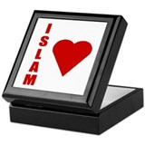 I love Islam Keepsake Box
