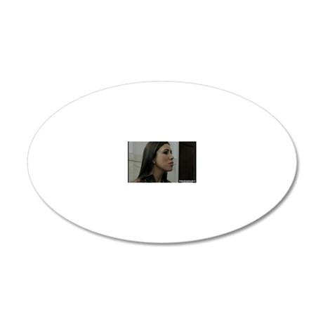 DV Lobby Card 2 20x12 Oval Wall Decal