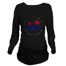 SCIENCE RWB.gif Long Sleeve Maternity T-Shirt