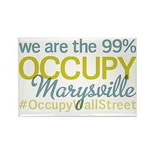 Occupy Marysville Rectangle Magnet