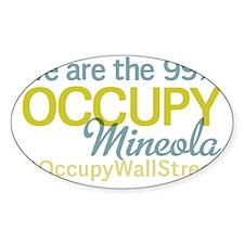 Occupy Mineola Decal