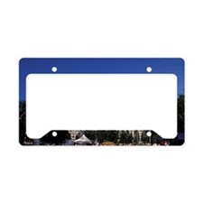 Russia, Siberia, Krasnoyarsk, License Plate Holder