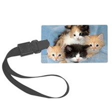shelter-kittens12x20 Luggage Tag