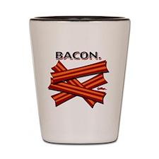 bacon-cap-2011 Shot Glass
