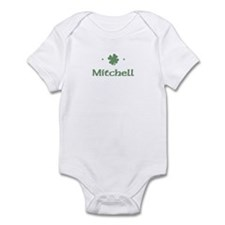"""Shamrock - Mitchell"" Infant Bodysuit"