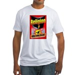 Religion: Kills Folks Dead! Red Raid Fitted T