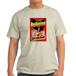 Religion: Kills Folks Dead! Red Raid Ash Grey T