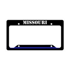 Missouri Police License Plate Holder
