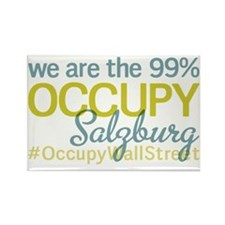 Occupy Salzburg Rectangle Magnet