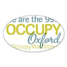 Occupy Oxford Decal