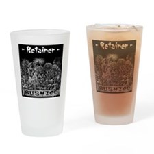 Retainer Back Drinking Glass