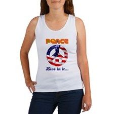 Live in Peace wear Women's Tank Top