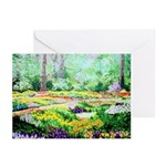 Flower Gardens, Greeting Cards (Pk of 10)