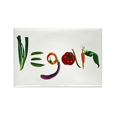 Vegan Rectangle Magnet