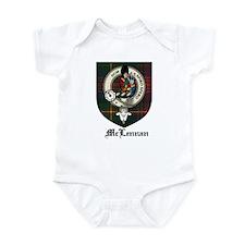 McLennan Clan Crest Tartan Infant Bodysuit