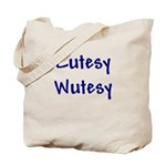Cutesy Wutesy Tote Bag