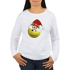 happy_santa_peace10x10 T-Shirt