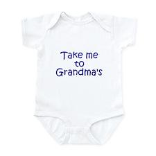 Take Me to Grandma's Infant Bodysuit