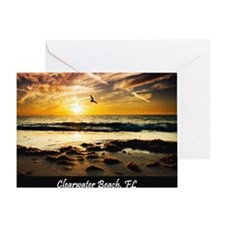 StubbornOcean_NO QUOTE_16x20 v2 Greeting Card