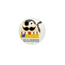 Captain Remy, the Pirate Mini Button