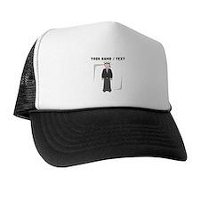 Custom Cartoon Navy Soldier Trucker Hat