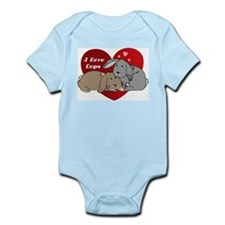 I love lop rabbits Infant Bodysuit