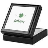 """Shamrock - Jalen"" Keepsake Box"