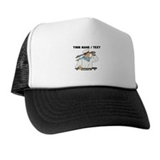 Custom Navy Soldier Trucker Hat