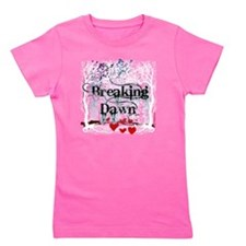 breaking dawn #7 with black text and wh Girl's Tee