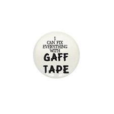 Gaff Tape Mini Button (10 pack)