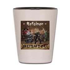 Retainer Back Ancible Colour Shot Glass