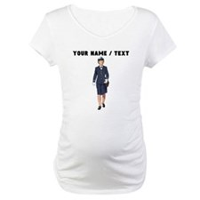 Custom Woman Naval Officer Shirt
