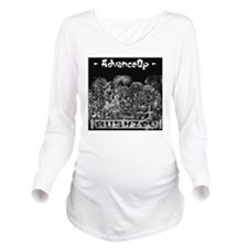 Retainer Back Advanc Long Sleeve Maternity T-Shirt