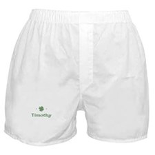 """Shamrock - Timothy"" Boxer Shorts"