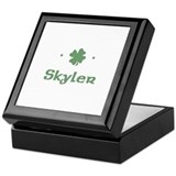"""Shamrock - Skyler"" Keepsake Box"
