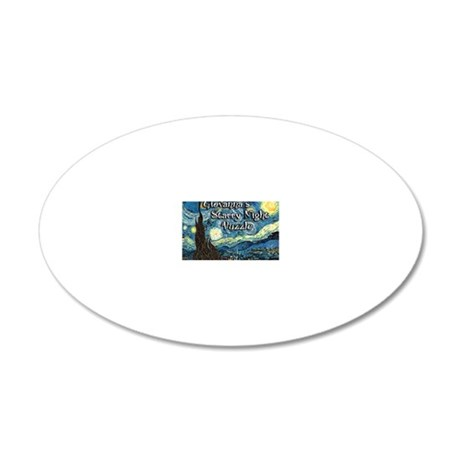 Giovannas 20x12 Oval Wall Decal