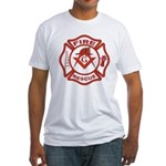 S&C Wearing the Fire Fighters Hat Fitted T-Shirt