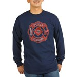 S&C Wearing the Fire Fighters Hat Long Sleeve Dark