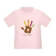 Personalized Turkey Hand T
