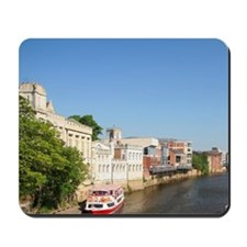England. York was a city enclosed comple Mousepad