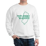 New Jersey Only the strong su Sweatshirt
