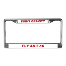 F-16 (FALCON) License Plate Frame